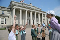 Shugborough Hall visitors